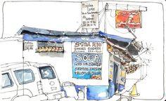 Soda Rio, Escazu | 출처: crclapiz