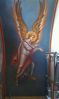 image Religious Icons, Religious Art, Friend Of God, Religious Paintings, Byzantine Icons, Orthodox Icons, Kirito, Angel Art, Cherub