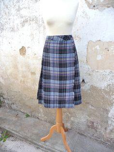 ON SALE 20% Vintage 1980/80s pleated skirt 80 skirt by laboheme