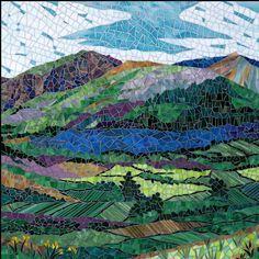 Rhonda Heisler Mosaic Art do a scenery mosaic on windows.. like looking thru to a nature view...