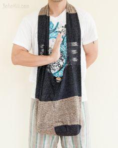 Unique Handwoven Purist Hippie Patchwork Shoulder Bag (MB-S5)