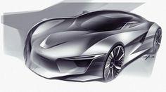 Audi sketch concept