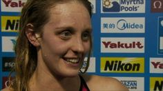 """Francesca Halsall believes her """"future is bright"""" after claiming Great Britain's sixth medal at the World Short Course Swimming Championships with silver in the 50m freestyle in Istanbul."""