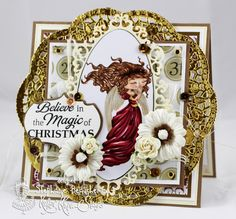 A World of Creative Possibilities: Kraftin' Kimmie Stamps : Oldie but goldie Christmas Angel