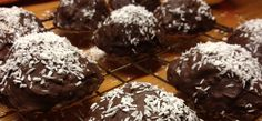 Flødeboller med kokos