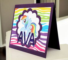 My Little Pony Card by ChicNSwills on Etsy, $5.00