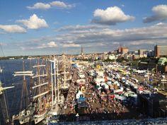 rostock, germany. Hanse Sail, Augsburg Germany, Baltic Sea, Germany Travel, San Francisco Skyline, Sailing, Dolores Park, City, Rostock