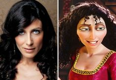 Lisa Edelstein Looks Like Mother Gothel From Tangled