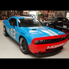 Richard Petty Challenger, perhaps my personal favorite out of any mods. Beautiful job.