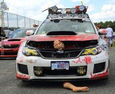 The Walking Dead needs this car for sure. Subaru Impreza