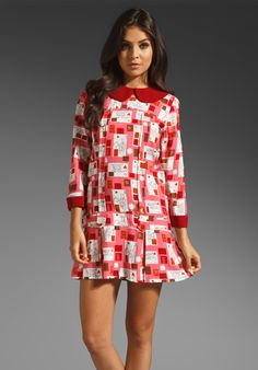 Fall 2012 Anna Sui Love Letter Dress in Rose Multi  Available At: http://www.revolveclothing.com/DisplayProduct.jsp?product=ASUI-WD108=Anna+Sui