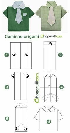 fathers day # fathers day # You are in the right place about DIY origami paper Here we offer you Origami Design, Origami Diy, Origami Shirt, Origami Dress, How To Make Origami, Paper Crafts Origami, Origami Tutorial, Oragami, Origami Tattoo