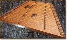 Brown Phoebe chromatic dulcimer by Songbird Dulcimers Hammered Dulcimer, Triangle, Brown, Music, Musica, Musik, Brown Colors, Muziek, Music Activities