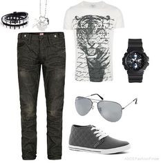 Gray Matter  | Men's Outfit | ASOS Fashion Finder…  I'll change the jeans for a boot cut and combine it with leather converse (black)