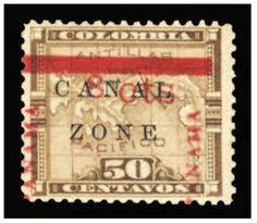1905 8c on 50c bister brown, well centered, slightly tropicalized original gum, v.f., with 2006 PFC,  -- $1,000.00  2013year