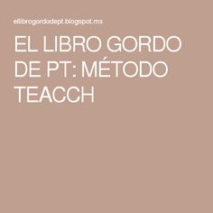 EL LIBRO GORDO DE PT: MÉTODO TEACCH Autism Information, Aspergers, Special Needs, Special Education, Classroom Management, Psychology, Teaching, How To Plan, School