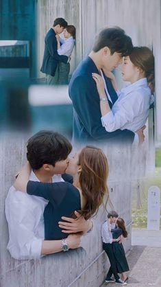 Korean Drama Movies, Korean Actors, Korean Dramas, First Love Quotes, Playful Kiss, The Neighbor, Drama Fever, Kdrama Memes, Park Min Young