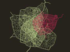 mapping urban sprawl Seoul