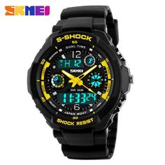 S Shock Waterproof LED Sport Army Military