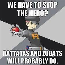 Because that's totally gonna work! #pokemon #meme #zubat #rattata