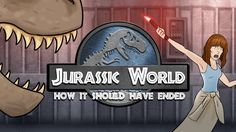 How Jurassic World Should Have Ended || THIS IS HILARIOUS