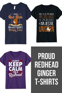 167e9f8a 25 Best T-shirts for Redheads and Gingers images in 2018 | Auburn ...