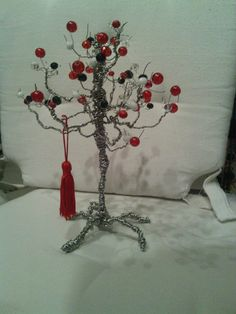crystal red tree