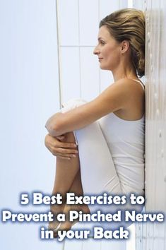 A pinched nerve can cause pain and discomfort throughout your day. Try these exercises to help prevent pain in the first place. Health Tips, Health And Wellness, Health Fitness, Chronic Pain, Fibromyalgia, Pinched Nerve Treatment, Pumpin Blood, Get Healthy, Healthy Life