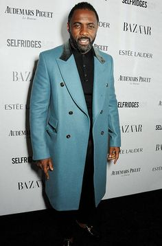 Fabulously Spotted  Idris Elba Wearing Gucci - Harpers Bazaar Women Of The  Year Awards - 64e4cdc559