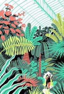 Malika Favre - Handsome Frank Illustration Agency — Designspiration