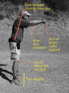 The PROPER way to stand. I'm gonna scream if I see one more insta post with a girl shooting with a crapy stance. You're embarrassing, stop please. Plus this will help u get right between the eyes..not missing and hitting something other then your target.