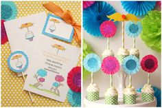 Cute Dr. Seuss' The Lorax Party! on http://pizzazzerie.com