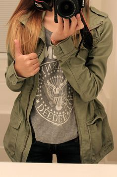 I have been dying for a military jacket, but my poor shopping skills have left me without one :( And it's hard to find one that fits just right.