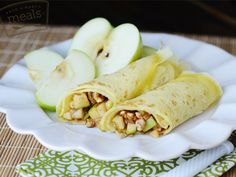 Apple Pecan Crepes   Once A Month Meals   OAMC   Freezer Cooking   Freezer Meals   Whole Foods Menu