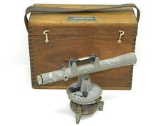 Vintage Sears Craftsman 789 46100 SURVEY Transit Farm Level Antique Wood Box