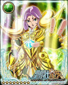 Gold Saint Aries Mu 2 Galaxy Cards version Saint Seiya Legend of Sanctuary