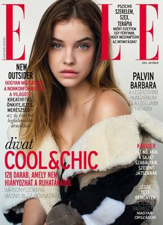 Barbara Palvin by Krisztian Eder for ELLE Hungary October 2015 covers
