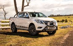 The Mazda XTR dual-cab is the subject of deals at the moment, with the cool-looking Kuroi Pack. This staple remains a solid offering. Mazda, Pick Up, Ford Ranger, Car Wallpapers, Vans, Pickup Trucks, Cars And Motorcycles, 50th, Automobile
