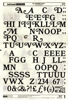 used letraset...flashback to late 80s for me