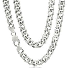 Sterling Silver Chains & Necklaces
