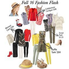 I love it when there's even more to mix with your wonderful Spring items!  Fall Fashion Flash is available now at 50% off for booking your new August show.  jeanettemurphey.cabionline.com