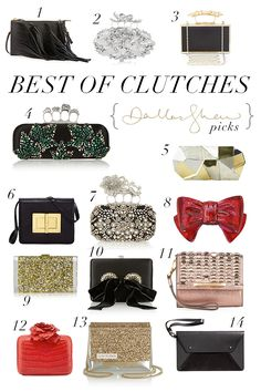 Dallas Shaw Blog { best of clutches }