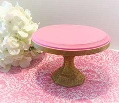 Mini cake stand,cupcake stand,smash cake stand,dessert stand, gold cake stand, cake pop stand by CocktailNConfettiCo on Etsy https://www.etsy.com/listing/460235046/mini-cake-standcupcake-standsmash-cake