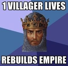 "Age of Empires: Noah's Inflexible Ark - Funny memes that ""GET IT"" and want you to too. Get the latest funniest memes and keep up what is going on in the meme-o-sphere. Age Of Empires 2, Age Of King, Videogames, Campus Party, Video Game Logic, Happy Birthday Meme, Journey, History Class, History Jokes"
