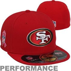 4b10edf81d714c New Era San Francisco 49ers Breast Cancer Awareness On-Field 59FIFTY Fitted  Performance Hat -