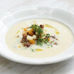 Kartoffel-Riesling-Suppe