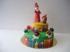 Sinterklaastaart from biscuitkatleen. No Bake Cake, Elf On The Shelf, Cakes, Baking, Holiday Decor, Desserts, Food, Tailgate Desserts, Deserts