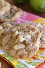 Lime-coconut white chocolate chip macadamia cookies- Our best bites.  This so reminds me of living in Florida.