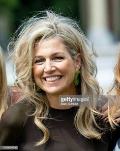 Queen Maxima of the Netherlands at Huis ten Bosch Palace on July 2019 in The Hague, Netherlands. King Alexander, Royal Tiaras, Dutch Royalty, Perfect Model, Queen Maxima, Summer Photos, Celebs, Celebrities, Netherlands