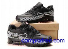 nike shox l'électricité des femmes - Nike Air Max 90 zapatillas de plata / color de rosa / negro http ...